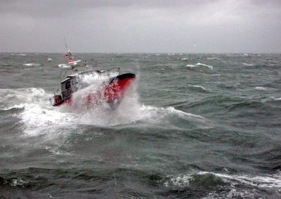 pilot boat rough seas