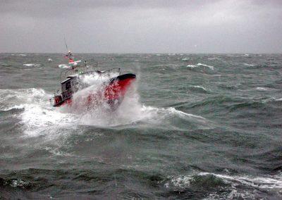 pilot boat rough seas
